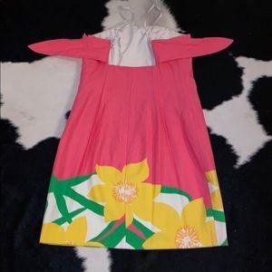Lilly Pulitzer Dresses - Strapless Pulitzer dress EUC